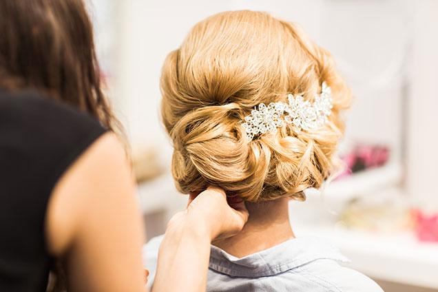 Bridal Hair Styling White Rock