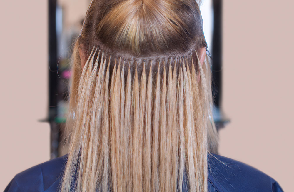Blonde Hair Extensions South Surrey