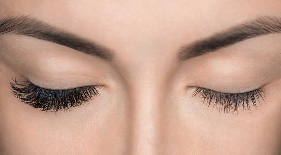 Before and After Lashes by Transformation