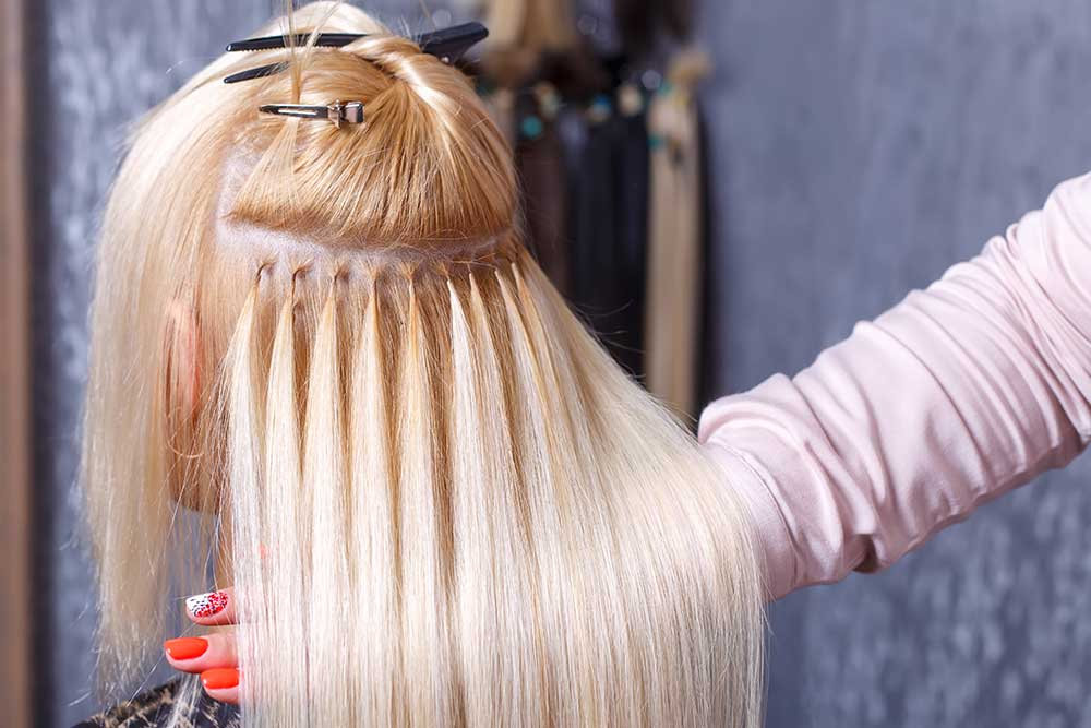 White Rock Hair Extensions